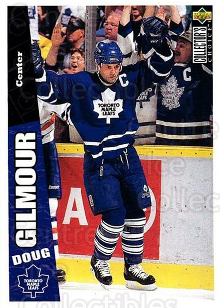 1996-97 Collectors Choice #256 Doug Gilmour<br/>2 In Stock - $1.00 each - <a href=https://centericecollectibles.foxycart.com/cart?name=1996-97%20Collectors%20Choice%20%23256%20Doug%20Gilmour...&quantity_max=2&price=$1.00&code=156530 class=foxycart> Buy it now! </a>