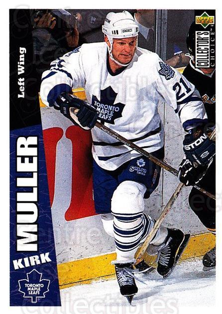 1996-97 Collectors Choice #259 Kirk Muller<br/>3 In Stock - $1.00 each - <a href=https://centericecollectibles.foxycart.com/cart?name=1996-97%20Collectors%20Choice%20%23259%20Kirk%20Muller...&quantity_max=3&price=$1.00&code=156533 class=foxycart> Buy it now! </a>
