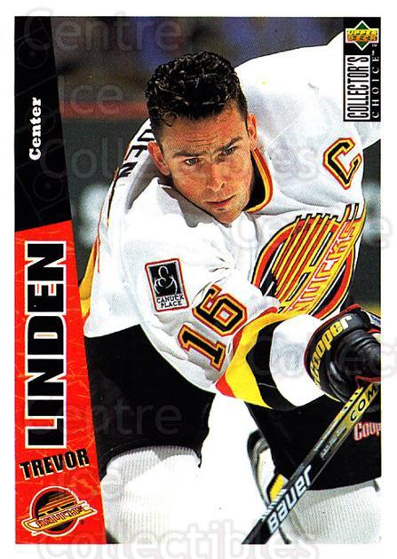 1996-97 Collectors Choice #268 Trevor Linden<br/>4 In Stock - $1.00 each - <a href=https://centericecollectibles.foxycart.com/cart?name=1996-97%20Collectors%20Choice%20%23268%20Trevor%20Linden...&quantity_max=4&price=$1.00&code=156543 class=foxycart> Buy it now! </a>