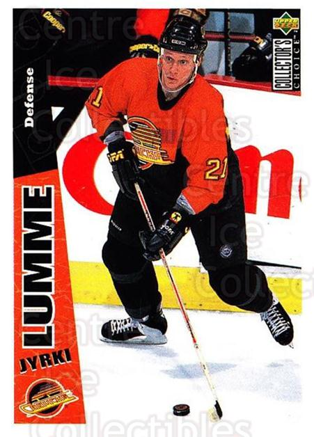 1996-97 Collectors Choice #269 Jyrki Lumme<br/>4 In Stock - $1.00 each - <a href=https://centericecollectibles.foxycart.com/cart?name=1996-97%20Collectors%20Choice%20%23269%20Jyrki%20Lumme...&quantity_max=4&price=$1.00&code=156544 class=foxycart> Buy it now! </a>