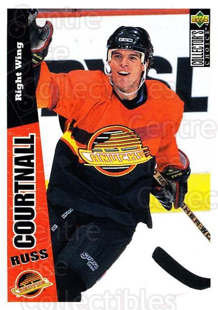 1996-97 Collectors Choice #276 Russ Courtnall<br/>4 In Stock - $1.00 each - <a href=https://centericecollectibles.foxycart.com/cart?name=1996-97%20Collectors%20Choice%20%23276%20Russ%20Courtnall...&quantity_max=4&price=$1.00&code=156552 class=foxycart> Buy it now! </a>