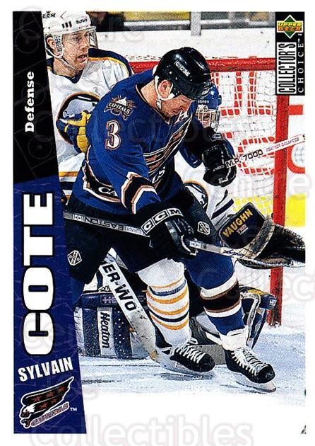 1996-97 Collectors Choice #287 Sylvain Cote<br/>2 In Stock - $1.00 each - <a href=https://centericecollectibles.foxycart.com/cart?name=1996-97%20Collectors%20Choice%20%23287%20Sylvain%20Cote...&quantity_max=2&price=$1.00&code=156563 class=foxycart> Buy it now! </a>