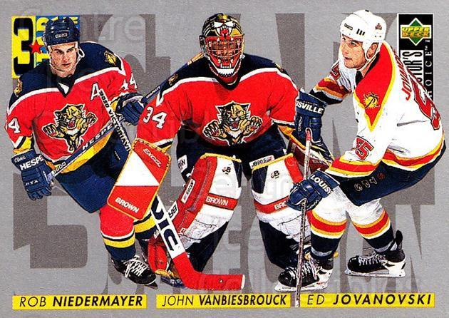 1996-97 Collectors Choice #318 Rob Niedermayer, John Vanbiesbrouck, Ed Jovanovski<br/>3 In Stock - $1.00 each - <a href=https://centericecollectibles.foxycart.com/cart?name=1996-97%20Collectors%20Choice%20%23318%20Rob%20Niedermayer...&quantity_max=3&price=$1.00&code=156598 class=foxycart> Buy it now! </a>