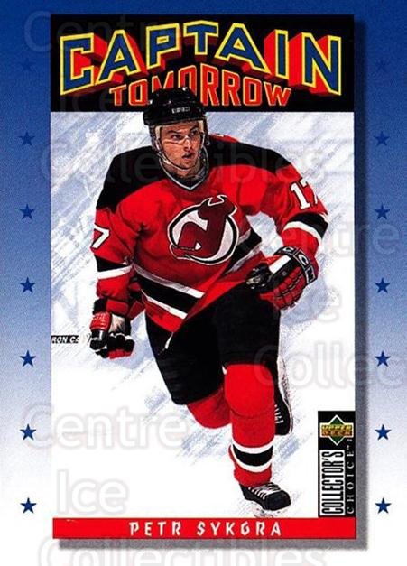 1996-97 Collectors Choice #339 Petr Sykora<br/>3 In Stock - $1.00 each - <a href=https://centericecollectibles.foxycart.com/cart?name=1996-97%20Collectors%20Choice%20%23339%20Petr%20Sykora...&quantity_max=3&price=$1.00&code=156621 class=foxycart> Buy it now! </a>