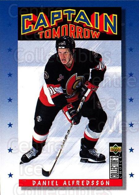 1996-97 Collectors Choice #344 Daniel Alfredsson<br/>3 In Stock - $1.00 each - <a href=https://centericecollectibles.foxycart.com/cart?name=1996-97%20Collectors%20Choice%20%23344%20Daniel%20Alfredss...&quantity_max=3&price=$1.00&code=156627 class=foxycart> Buy it now! </a>