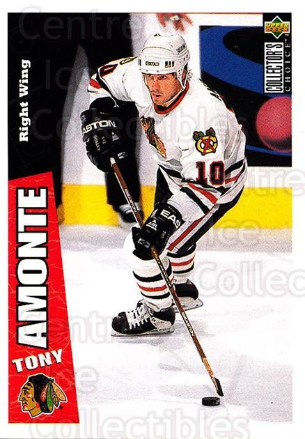 1996-97 Collectors Choice #49 Tony Amonte<br/>2 In Stock - $1.00 each - <a href=https://centericecollectibles.foxycart.com/cart?name=1996-97%20Collectors%20Choice%20%2349%20Tony%20Amonte...&quantity_max=2&price=$1.00&code=156662 class=foxycart> Buy it now! </a>
