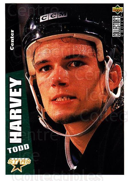 1996-97 Collectors Choice #67 Todd Harvey<br/>3 In Stock - $1.00 each - <a href=https://centericecollectibles.foxycart.com/cart?name=1996-97%20Collectors%20Choice%20%2367%20Todd%20Harvey...&quantity_max=3&price=$1.00&code=156682 class=foxycart> Buy it now! </a>