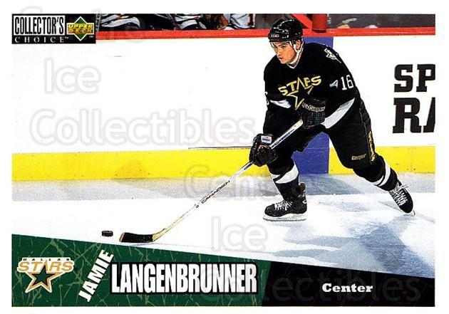 1996-97 Collectors Choice #74 Jamie Langenbrunner<br/>3 In Stock - $1.00 each - <a href=https://centericecollectibles.foxycart.com/cart?name=1996-97%20Collectors%20Choice%20%2374%20Jamie%20Langenbru...&quantity_max=3&price=$1.00&code=156690 class=foxycart> Buy it now! </a>