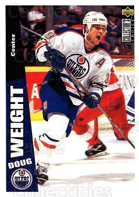 1996-97 Collectors Choice #91 Doug Weight<br/>2 In Stock - $1.00 each - <a href=https://centericecollectibles.foxycart.com/cart?name=1996-97%20Collectors%20Choice%20%2391%20Doug%20Weight...&quantity_max=2&price=$1.00&code=156709 class=foxycart> Buy it now! </a>