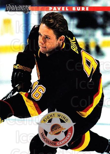 1996-97 Donruss #65 Pavel Bure<br/>6 In Stock - $1.00 each - <a href=https://centericecollectibles.foxycart.com/cart?name=1996-97%20Donruss%20%2365%20Pavel%20Bure...&quantity_max=6&price=$1.00&code=156767 class=foxycart> Buy it now! </a>