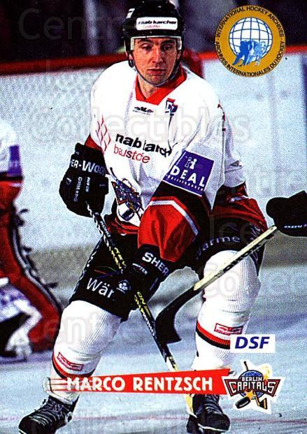 1996-97 German DEL #253 Marco Rentzsch<br/>7 In Stock - $2.00 each - <a href=https://centericecollectibles.foxycart.com/cart?name=1996-97%20German%20DEL%20%23253%20Marco%20Rentzsch...&quantity_max=7&price=$2.00&code=156887 class=foxycart> Buy it now! </a>