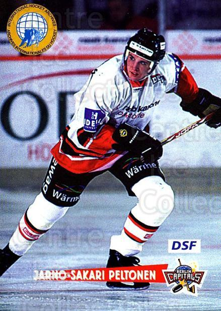 1996-97 German DEL #267 Jarno Peltonen<br/>6 In Stock - $2.00 each - <a href=https://centericecollectibles.foxycart.com/cart?name=1996-97%20German%20DEL%20%23267%20Jarno%20Peltonen...&quantity_max=6&price=$2.00&code=156899 class=foxycart> Buy it now! </a>