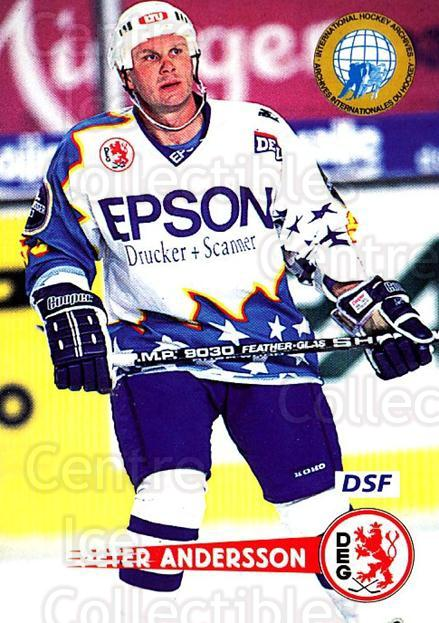 1996-97 German DEL #276 Peter Andersson<br/>4 In Stock - $2.00 each - <a href=https://centericecollectibles.foxycart.com/cart?name=1996-97%20German%20DEL%20%23276%20Peter%20Andersson...&quantity_max=4&price=$2.00&code=156909 class=foxycart> Buy it now! </a>