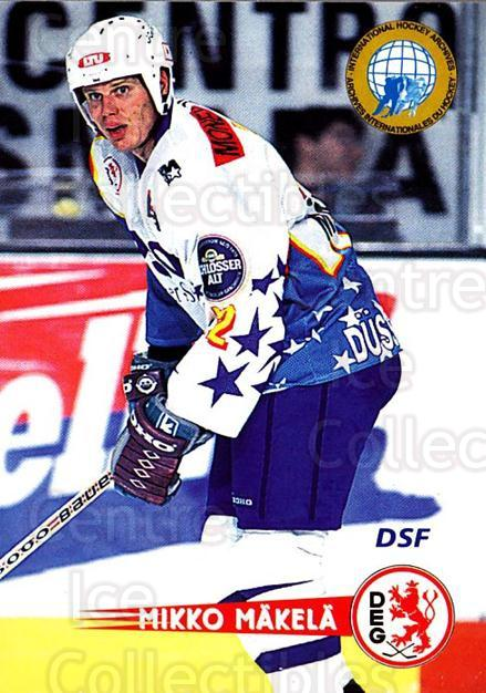 1996-97 German DEL #286 Mikko Makela<br/>1 In Stock - $2.00 each - <a href=https://centericecollectibles.foxycart.com/cart?name=1996-97%20German%20DEL%20%23286%20Mikko%20Makela...&quantity_max=1&price=$2.00&code=156919 class=foxycart> Buy it now! </a>