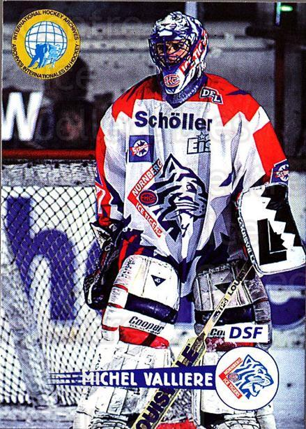 1996-97 German DEL #316 Michel Valliere<br/>4 In Stock - $2.00 each - <a href=https://centericecollectibles.foxycart.com/cart?name=1996-97%20German%20DEL%20%23316%20Michel%20Valliere...&price=$2.00&code=156952 class=foxycart> Buy it now! </a>
