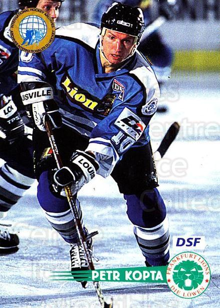 1996-97 German DEL #55 Petr Kopta<br/>7 In Stock - $2.00 each - <a href=https://centericecollectibles.foxycart.com/cart?name=1996-97%20German%20DEL%20%2355%20Petr%20Kopta...&quantity_max=7&price=$2.00&code=157014 class=foxycart> Buy it now! </a>