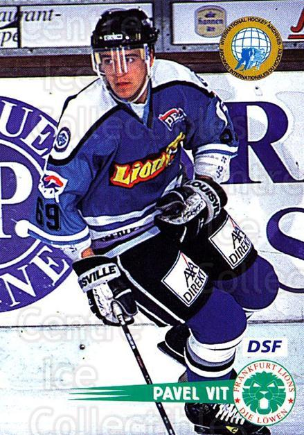 1996-97 German DEL #62 Pavel Vit<br/>4 In Stock - $2.00 each - <a href=https://centericecollectibles.foxycart.com/cart?name=1996-97%20German%20DEL%20%2362%20Pavel%20Vit...&quantity_max=4&price=$2.00&code=157021 class=foxycart> Buy it now! </a>