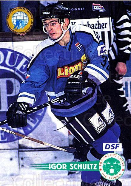 1996-97 German DEL #64 Igor Schultz<br/>6 In Stock - $2.00 each - <a href=https://centericecollectibles.foxycart.com/cart?name=1996-97%20German%20DEL%20%2364%20Igor%20Schultz...&quantity_max=6&price=$2.00&code=157023 class=foxycart> Buy it now! </a>