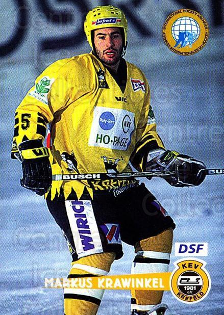 1996-97 German DEL #71 Markus Krawinkel<br/>4 In Stock - $2.00 each - <a href=https://centericecollectibles.foxycart.com/cart?name=1996-97%20German%20DEL%20%2371%20Markus%20Krawinke...&quantity_max=4&price=$2.00&code=157029 class=foxycart> Buy it now! </a>
