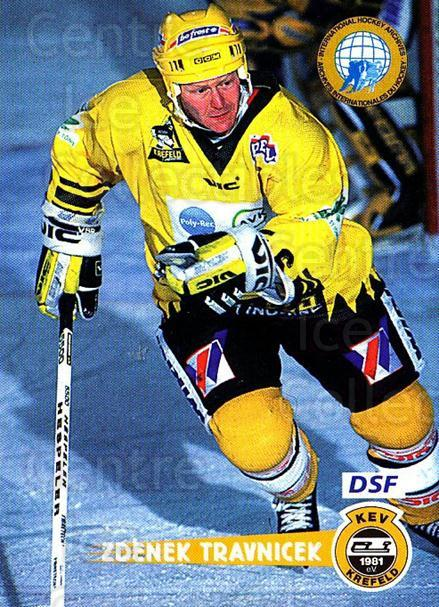 1996-97 German DEL #72 Zdenek Travnicek<br/>4 In Stock - $2.00 each - <a href=https://centericecollectibles.foxycart.com/cart?name=1996-97%20German%20DEL%20%2372%20Zdenek%20Travnice...&quantity_max=4&price=$2.00&code=157030 class=foxycart> Buy it now! </a>