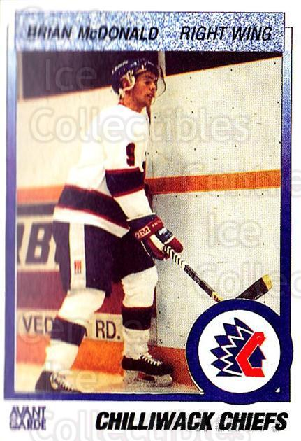 1991-92 British Columbia Junior Hockey League #131 Brian McDonald<br/>6 In Stock - $2.00 each - <a href=https://centericecollectibles.foxycart.com/cart?name=1991-92%20British%20Columbia%20Junior%20Hockey%20League%20%23131%20Brian%20McDonald...&quantity_max=6&price=$2.00&code=15704 class=foxycart> Buy it now! </a>
