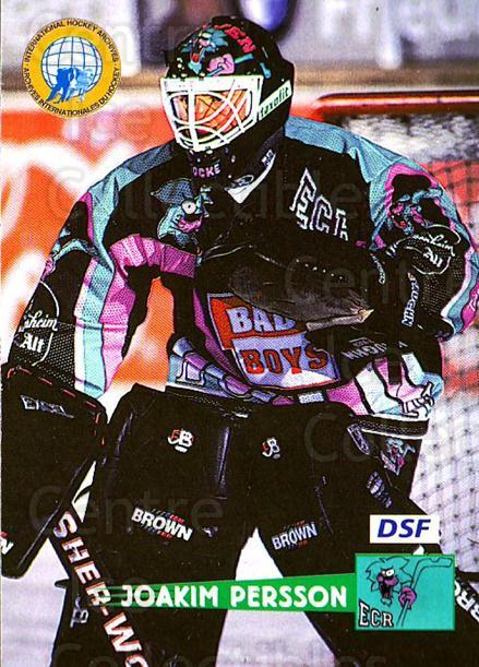 1996-97 German DEL #92 Joakim Persson<br/>4 In Stock - $2.00 each - <a href=https://centericecollectibles.foxycart.com/cart?name=1996-97%20German%20DEL%20%2392%20Joakim%20Persson...&price=$2.00&code=157050 class=foxycart> Buy it now! </a>