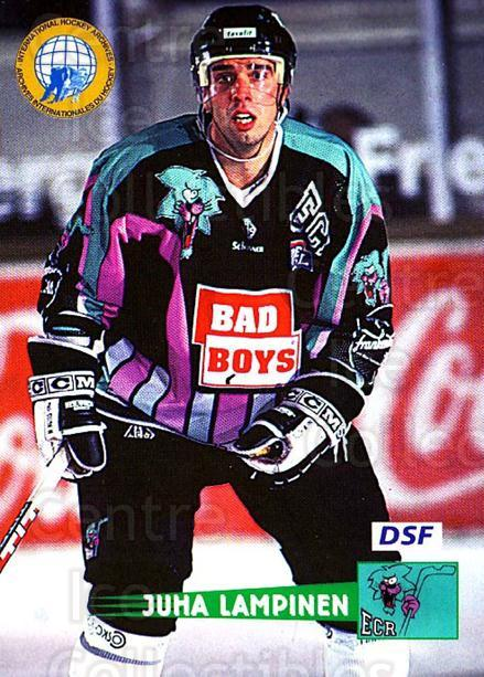 1996-97 German DEL #95 Juha Lampinen<br/>8 In Stock - $2.00 each - <a href=https://centericecollectibles.foxycart.com/cart?name=1996-97%20German%20DEL%20%2395%20Juha%20Lampinen...&price=$2.00&code=157053 class=foxycart> Buy it now! </a>