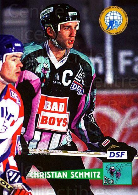 1996-97 German DEL #96 Christian Schmitz<br/>9 In Stock - $2.00 each - <a href=https://centericecollectibles.foxycart.com/cart?name=1996-97%20German%20DEL%20%2396%20Christian%20Schmi...&price=$2.00&code=157054 class=foxycart> Buy it now! </a>