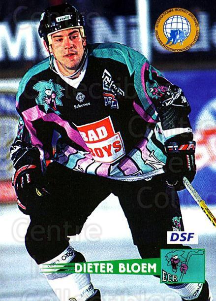 1996-97 German DEL #99 Dieter Bloem<br/>8 In Stock - $2.00 each - <a href=https://centericecollectibles.foxycart.com/cart?name=1996-97%20German%20DEL%20%2399%20Dieter%20Bloem...&price=$2.00&code=157057 class=foxycart> Buy it now! </a>