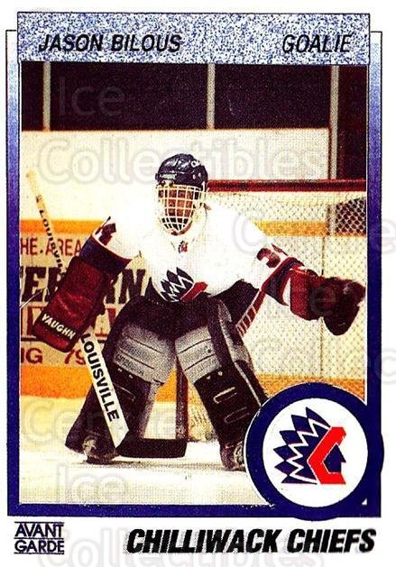 1991-92 British Columbia Junior Hockey League #136 Jason Bilous<br/>6 In Stock - $2.00 each - <a href=https://centericecollectibles.foxycart.com/cart?name=1991-92%20British%20Columbia%20Junior%20Hockey%20League%20%23136%20Jason%20Bilous...&quantity_max=6&price=$2.00&code=15708 class=foxycart> Buy it now! </a>