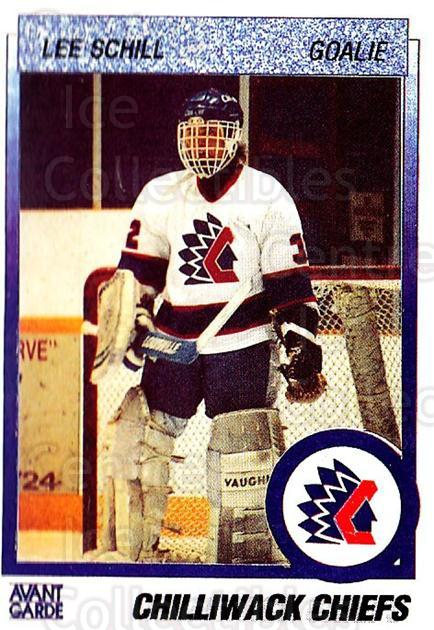 1991-92 British Columbia Junior Hockey League #137 Lee Schill<br/>6 In Stock - $2.00 each - <a href=https://centericecollectibles.foxycart.com/cart?name=1991-92%20British%20Columbia%20Junior%20Hockey%20League%20%23137%20Lee%20Schill...&quantity_max=6&price=$2.00&code=15709 class=foxycart> Buy it now! </a>