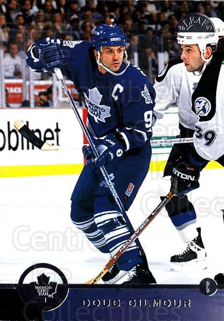 1996-97 Leaf #74 Doug Gilmour<br/>2 In Stock - $1.00 each - <a href=https://centericecollectibles.foxycart.com/cart?name=1996-97%20Leaf%20%2374%20Doug%20Gilmour...&quantity_max=2&price=$1.00&code=157118 class=foxycart> Buy it now! </a>