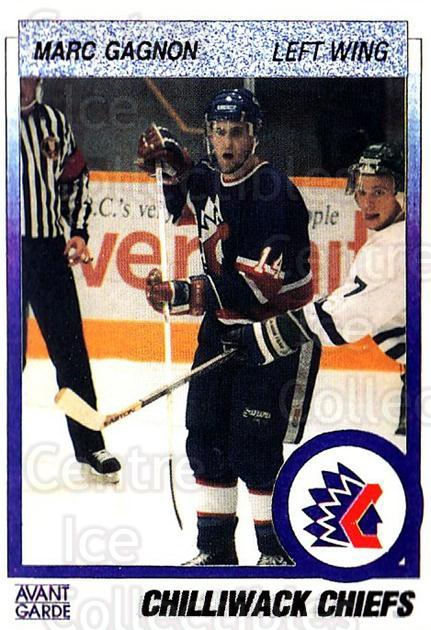 1991-92 British Columbia Junior Hockey League #140 Marc Gagnon<br/>6 In Stock - $2.00 each - <a href=https://centericecollectibles.foxycart.com/cart?name=1991-92%20British%20Columbia%20Junior%20Hockey%20League%20%23140%20Marc%20Gagnon...&quantity_max=6&price=$2.00&code=15713 class=foxycart> Buy it now! </a>