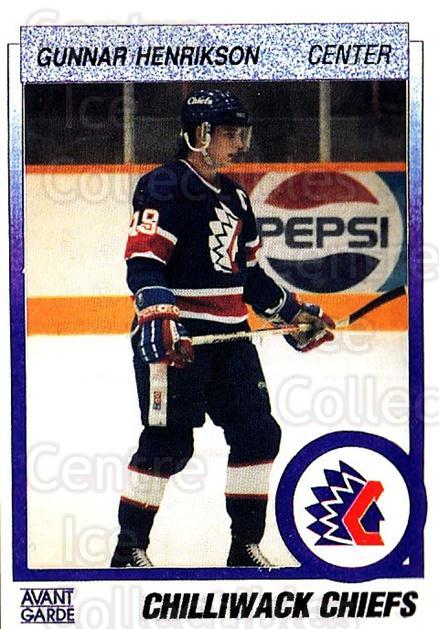 1991-92 British Columbia Junior Hockey League #141 Gunnar Henrikson<br/>6 In Stock - $2.00 each - <a href=https://centericecollectibles.foxycart.com/cart?name=1991-92%20British%20Columbia%20Junior%20Hockey%20League%20%23141%20Gunnar%20Henrikso...&quantity_max=6&price=$2.00&code=15714 class=foxycart> Buy it now! </a>