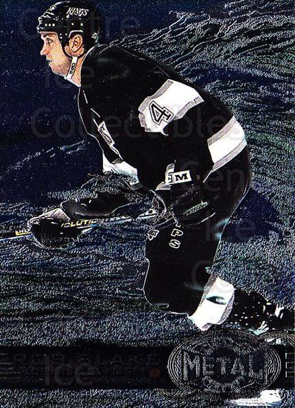 1996-97 Metal Universe #73 Rob Blake<br/>3 In Stock - $1.00 each - <a href=https://centericecollectibles.foxycart.com/cart?name=1996-97%20Metal%20Universe%20%2373%20Rob%20Blake...&quantity_max=3&price=$1.00&code=157151 class=foxycart> Buy it now! </a>