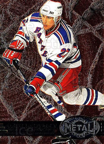 1996-97 Metal Universe #97 Alexei Kovalev<br/>4 In Stock - $1.00 each - <a href=https://centericecollectibles.foxycart.com/cart?name=1996-97%20Metal%20Universe%20%2397%20Alexei%20Kovalev...&quantity_max=4&price=$1.00&code=157175 class=foxycart> Buy it now! </a>
