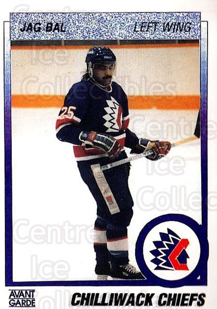 1991-92 British Columbia Junior Hockey League #144 Jag Bal<br/>6 In Stock - $2.00 each - <a href=https://centericecollectibles.foxycart.com/cart?name=1991-92%20British%20Columbia%20Junior%20Hockey%20League%20%23144%20Jag%20Bal...&quantity_max=6&price=$2.00&code=15717 class=foxycart> Buy it now! </a>