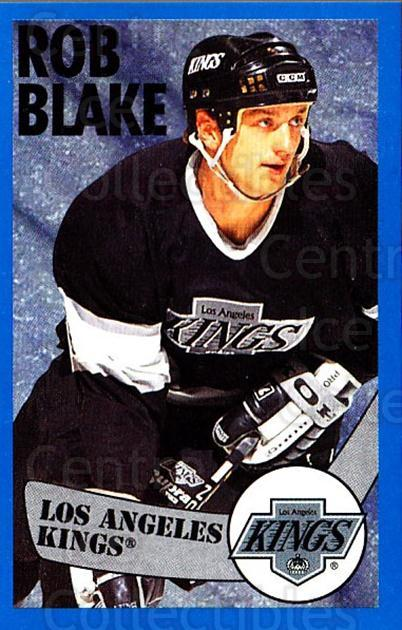 1996-97 Panini Stickers #268 Rob Blake<br/>6 In Stock - $1.00 each - <a href=https://centericecollectibles.foxycart.com/cart?name=1996-97%20Panini%20Stickers%20%23268%20Rob%20Blake...&quantity_max=6&price=$1.00&code=157202 class=foxycart> Buy it now! </a>