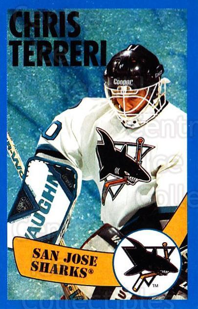 1996-97 Panini Stickers #280 Chris Terreri<br/>1 In Stock - $1.00 each - <a href=https://centericecollectibles.foxycart.com/cart?name=1996-97%20Panini%20Stickers%20%23280%20Chris%20Terreri...&quantity_max=1&price=$1.00&code=157216 class=foxycart> Buy it now! </a>
