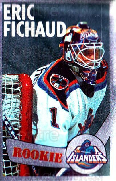 1996-97 Panini Stickers #303 Eric Fichaud<br/>5 In Stock - $1.00 each - <a href=https://centericecollectibles.foxycart.com/cart?name=1996-97%20Panini%20Stickers%20%23303%20Eric%20Fichaud...&quantity_max=5&price=$1.00&code=157241 class=foxycart> Buy it now! </a>