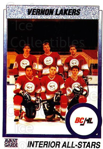 1991-92 British Columbia Junior Hockey League #155 Dusty McLellan, Roland Ramoser, Rick Eremenko<br/>4 In Stock - $2.00 each - <a href=https://centericecollectibles.foxycart.com/cart?name=1991-92%20British%20Columbia%20Junior%20Hockey%20League%20%23155%20Dusty%20McLellan,...&price=$2.00&code=15728 class=foxycart> Buy it now! </a>