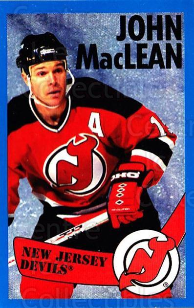 1996-97 Panini Stickers #88 John MacLean<br/>6 In Stock - $1.00 each - <a href=https://centericecollectibles.foxycart.com/cart?name=1996-97%20Panini%20Stickers%20%2388%20John%20MacLean...&quantity_max=6&price=$1.00&code=157302 class=foxycart> Buy it now! </a>