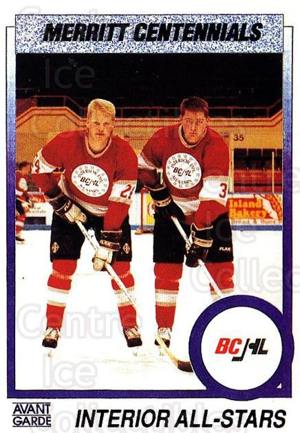 1991-92 British Columbia Junior Hockey League #157 John Graham, Dave Dunnigan<br/>6 In Stock - $2.00 each - <a href=https://centericecollectibles.foxycart.com/cart?name=1991-92%20British%20Columbia%20Junior%20Hockey%20League%20%23157%20John%20Graham,%20Da...&quantity_max=6&price=$2.00&code=15730 class=foxycart> Buy it now! </a>