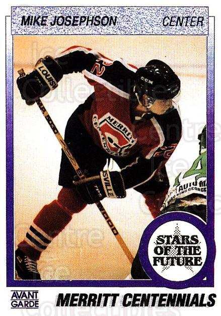 1991-92 British Columbia Junior Hockey League #166 Mike Josephson<br/>6 In Stock - $2.00 each - <a href=https://centericecollectibles.foxycart.com/cart?name=1991-92%20British%20Columbia%20Junior%20Hockey%20League%20%23166%20Mike%20Josephson...&quantity_max=6&price=$2.00&code=15737 class=foxycart> Buy it now! </a>