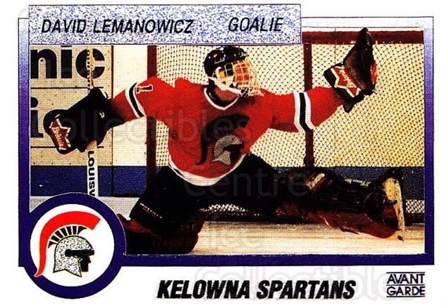 1991-92 British Columbia Junior Hockey League #18 David Lemanowicz<br/>2 In Stock - $2.00 each - <a href=https://centericecollectibles.foxycart.com/cart?name=1991-92%20British%20Columbia%20Junior%20Hockey%20League%20%2318%20David%20Lemanowic...&price=$2.00&code=15741 class=foxycart> Buy it now! </a>
