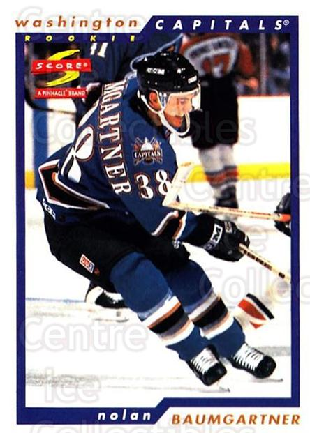 1996-97 Score #251 Nolan Baumgartner<br/>5 In Stock - $1.00 each - <a href=https://centericecollectibles.foxycart.com/cart?name=1996-97%20Score%20%23251%20Nolan%20Baumgartn...&quantity_max=5&price=$1.00&code=157453 class=foxycart> Buy it now! </a>
