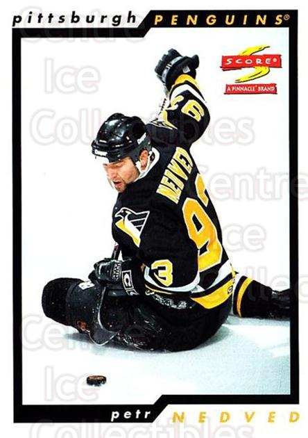 1996-97 Score #38 Petr Nedved<br/>4 In Stock - $1.00 each - <a href=https://centericecollectibles.foxycart.com/cart?name=1996-97%20Score%20%2338%20Petr%20Nedved...&quantity_max=4&price=$1.00&code=157481 class=foxycart> Buy it now! </a>