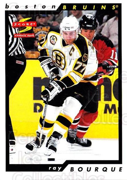 1996-97 Score #53 Ray Bourque<br/>4 In Stock - $1.00 each - <a href=https://centericecollectibles.foxycart.com/cart?name=1996-97%20Score%20%2353%20Ray%20Bourque...&quantity_max=4&price=$1.00&code=157495 class=foxycart> Buy it now! </a>