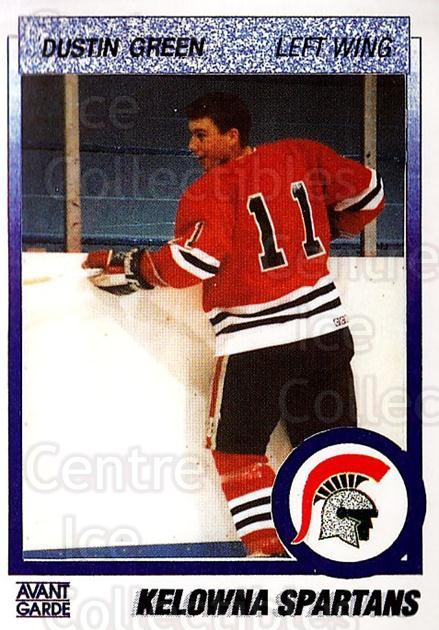 1991-92 British Columbia Junior Hockey League #26 Dustin Green<br/>4 In Stock - $2.00 each - <a href=https://centericecollectibles.foxycart.com/cart?name=1991-92%20British%20Columbia%20Junior%20Hockey%20League%20%2326%20Dustin%20Green...&price=$2.00&code=15749 class=foxycart> Buy it now! </a>