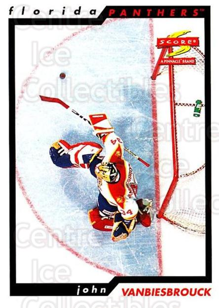1996-97 Score #63 John Vanbiesbrouck<br/>3 In Stock - $1.00 each - <a href=https://centericecollectibles.foxycart.com/cart?name=1996-97%20Score%20%2363%20John%20Vanbiesbro...&quantity_max=3&price=$1.00&code=157504 class=foxycart> Buy it now! </a>